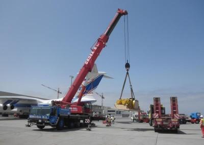 Trabajos Agencia Taliarte – Plataforma Sedco Energy de Trans-Ocean