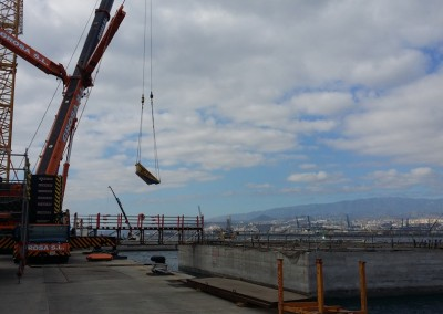 "Through ""Acciona"", collaborating in the construction of the Oceanographic Platform (PLOCAN)"