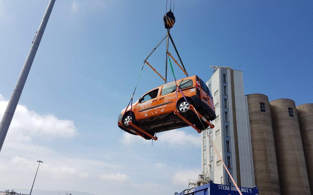 Equipo de elevación de vehículos para turismos y todo terrenos