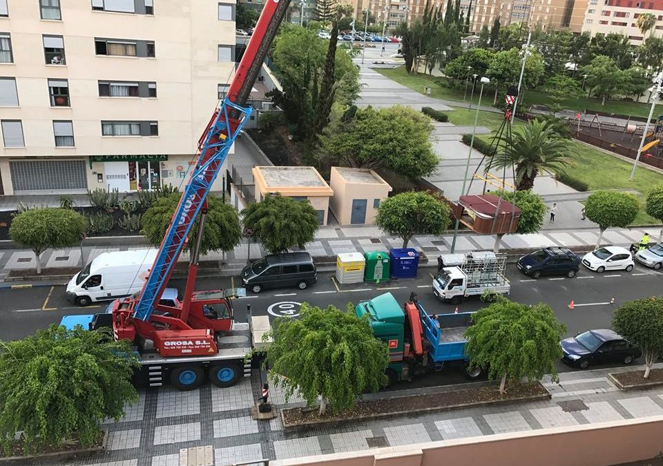 Lifting of Jacuzzi