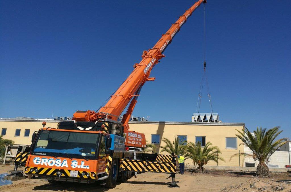 Sustitución de maquinaria en Hospital del Sur de la isla de Gran Canaria