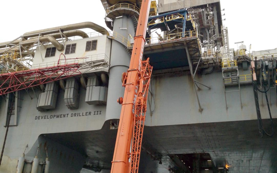 Offshore platform work