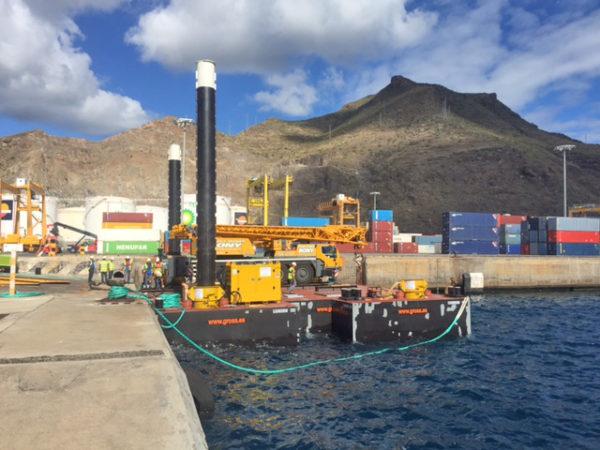 pontonas modulares en Las Palmas de Gran Canaria